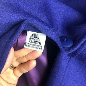Capri Jackets & Coats - Vintage Capri Purple 100% Pure Wool Coat, 6.